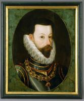 Portrait Erzherzog Ferdinand nach der Retusche, neuem Firnisauftrag und Einrahmung